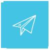 Иконка на хартиено самолетче