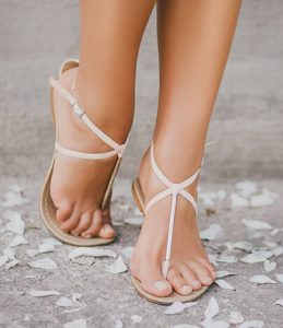 Крака, без раширени вени, на младо момиче
