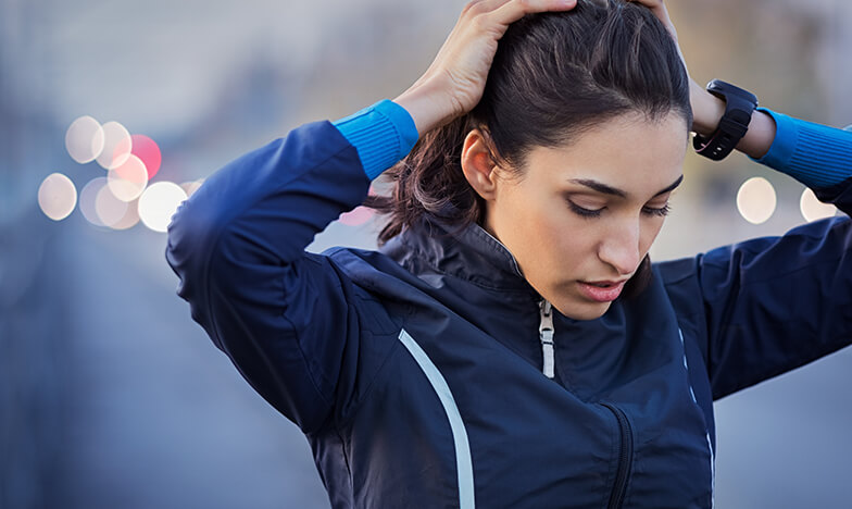 Момиче, което тича
