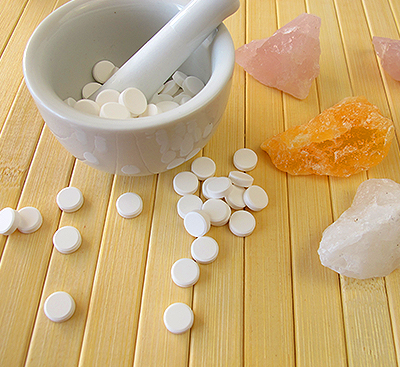 Шуслерови соли с минерали до тях