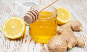 Мед, лимон и джинджифил