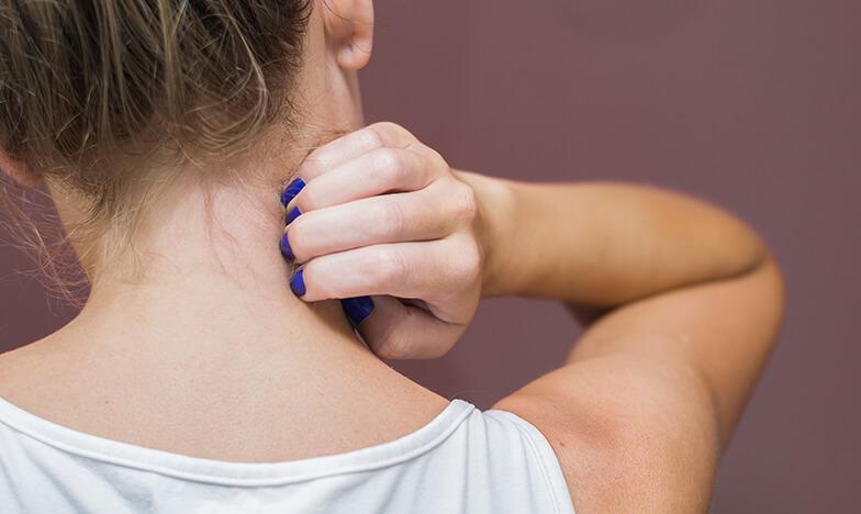 Жена с атопичен дерматит
