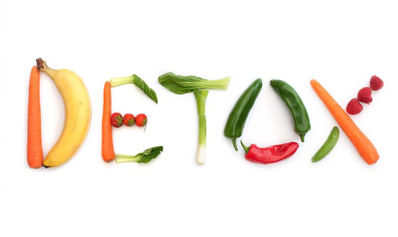 детокс със плодове и зеленчуци
