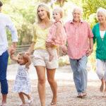 семейство в активна възраст