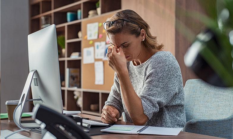 жена под стрес