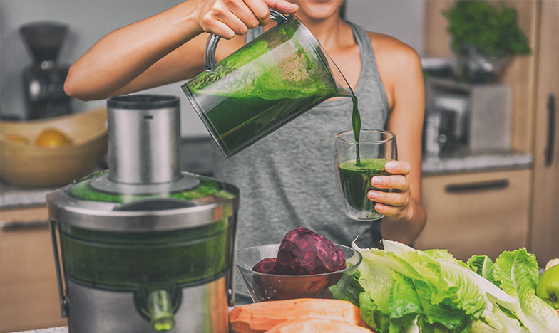 смути от зелени зеленчуци