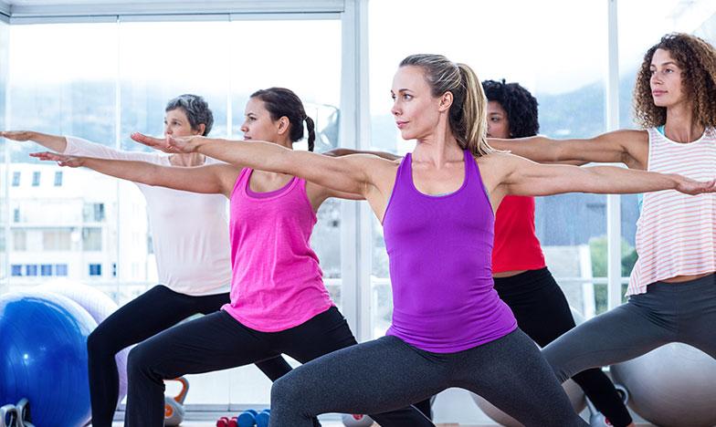 жени, който тренират