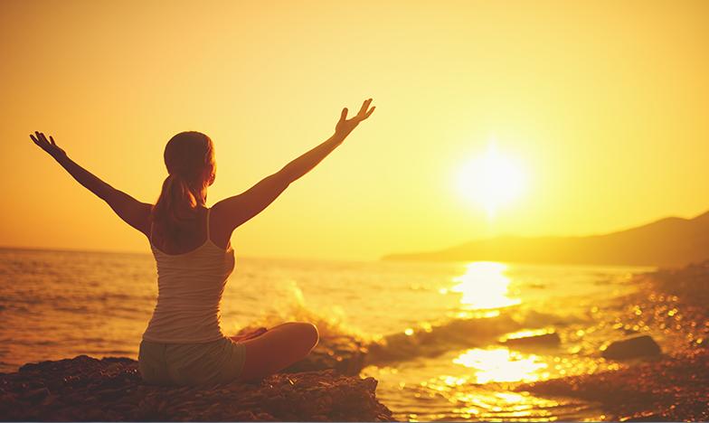 йога и море