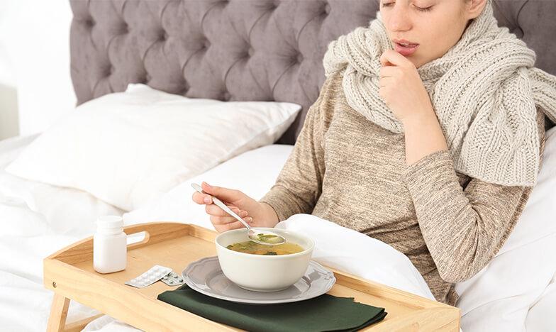 Ако имаш грип, остани си в леглото.