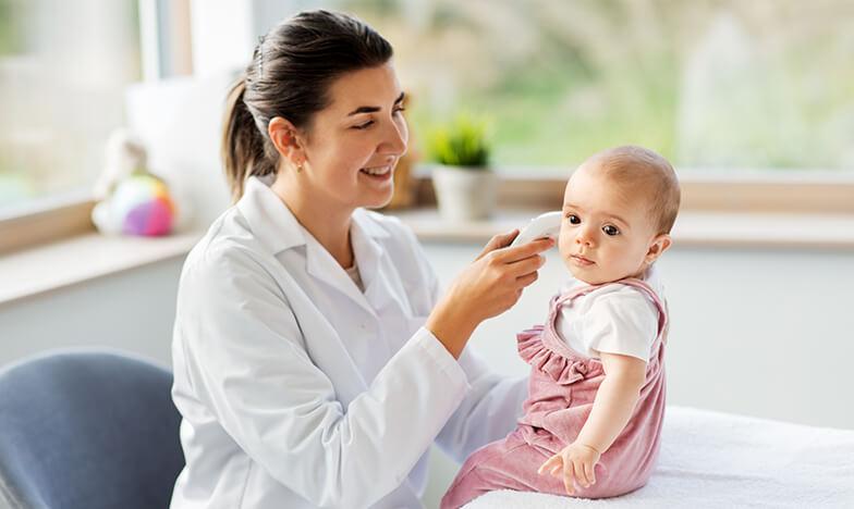 Висока температура при дете