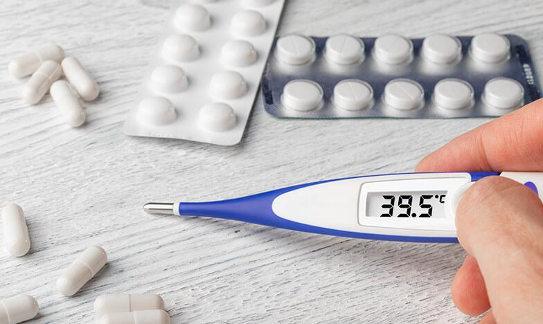 Tемпературопонижаващи медикаменти
