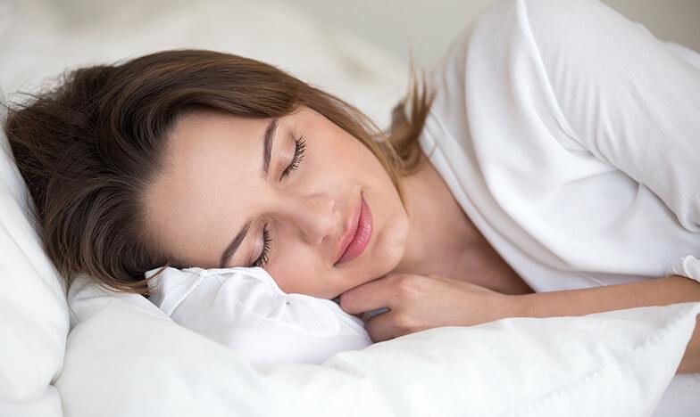 Жена спи спокойно