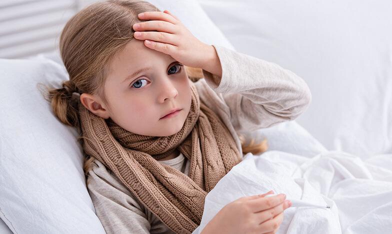 Висока температура при дете, което се лекува у дома