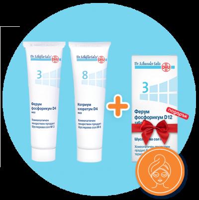 Комбинация за спешна грижа за кожата