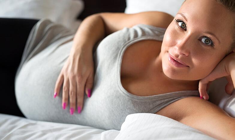 Бременна жена, излекувала гъбички